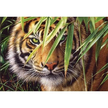 """Пазл """"Взгляд тигра"""", 1500 элементов"""