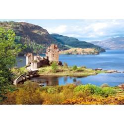 "Пазлы картина ""Замок Шотландии ""Эйлен Донан"""" (""Eilean Donan Castle"")"