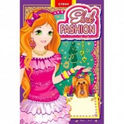 """Книжка-іграшка """"Модель №2"""" Elvik FASHION"""