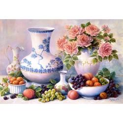 "Пазл ""Натюрморт с вазами"", 2000 элементов"