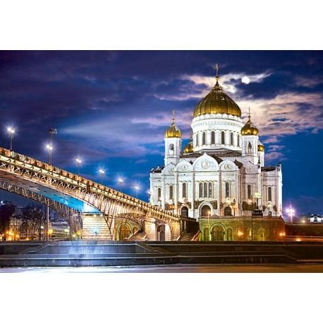 "Пазлы картинка ""Храм Христа-Спасителя"", Россия"