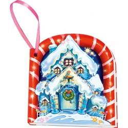 Книжка на ёлку: Ледяной домик (мини)