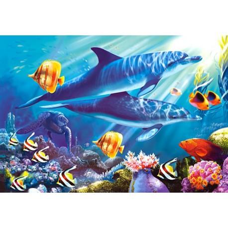 """Пазлы картина """"Подводный мир"""""""