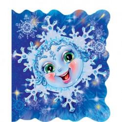 Книжка на ялинку: Сніжинка (міні)
