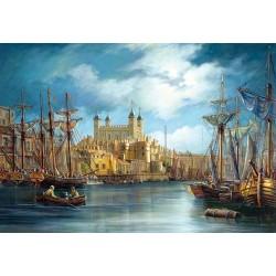 """Пазлы картина """"Новый день в гавани Харбор"""""""