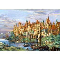 """Пазлы картина """"Город Ротенбург"""", Германия"""