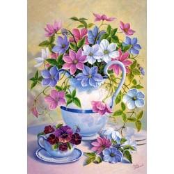 """Пазл """"Весенние цветы"""", 1500 элементов"""