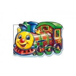 "Книжка-картонка ""Поезд"""