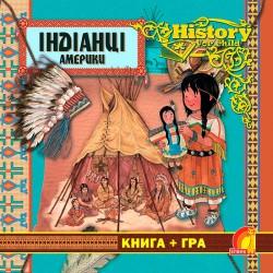Индейцы Америки. Книга + игра. History for child.