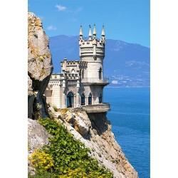"""Пазлы картинка """"Ласточкино Гнездо"""", Крым, Украина"""